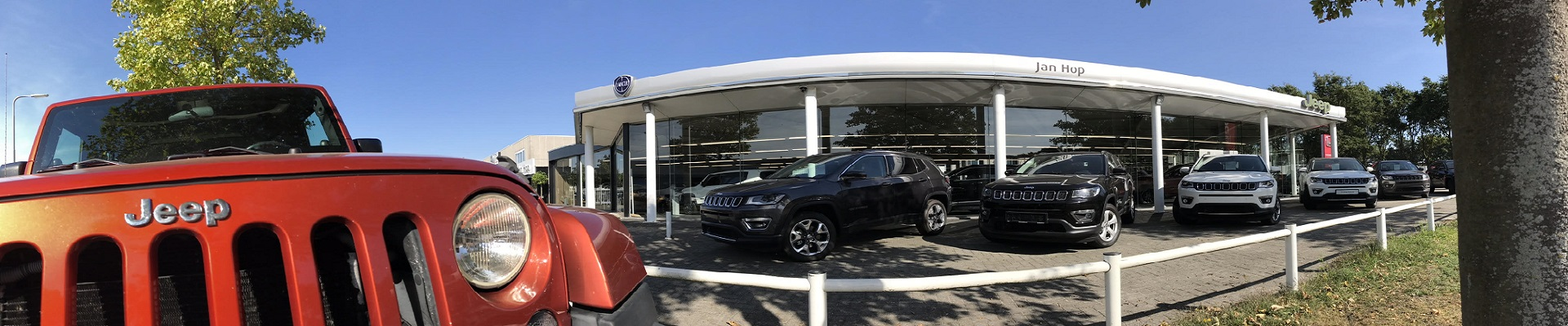Jan Hop De Jeep dealer van Zuid Nederland