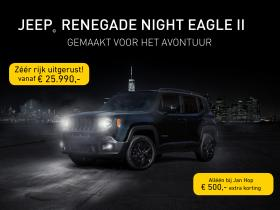 Jeep Renegade Night Eagle II aanbieding